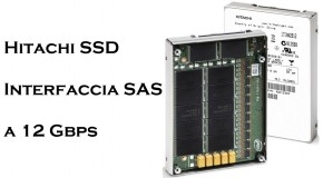 Hitachi SSD con interfaccia SAS a 12 Gbps - Logo