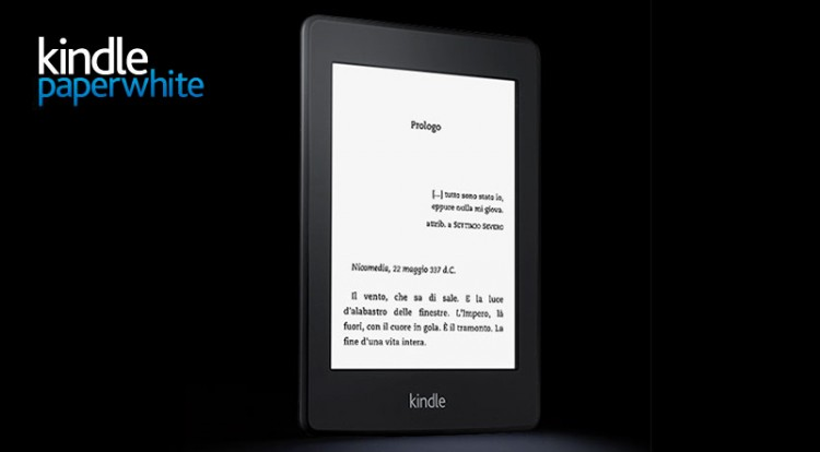 Kindle paperwhite disponibile in italia l ebook reader di amazon
