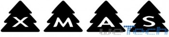 AlphaShapes Xmas Trees