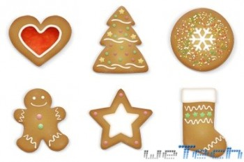 Brainleaf - Christmas Cookies Icons