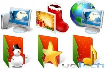 Customan - Christmas Folder Icons