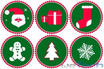 DesignBolts - Vector Christmas Icons