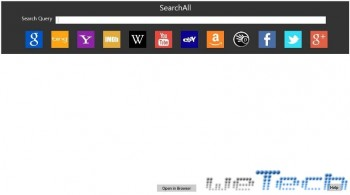 SearchAll - App per Windows 8 - Anteprima