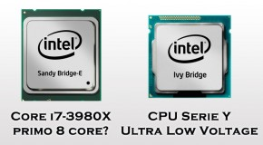 Intel - i7-3980X con 8 core e Serie Y Ultra Low Voltage - Logo
