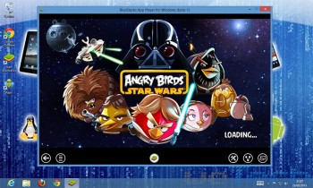Angry Birds Star Wars su Windows 8 tramite BlueStacks
