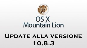 Apple OS X Mountain Lion - Update 10.8.3 - Logo