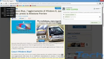 Evernote per Google Chrome