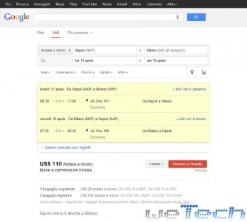 Google Flights - 3