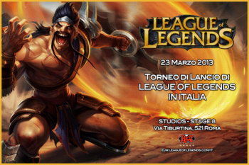 Torneo di lancio di League of Legends in Italia