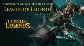 Torneo di lancio di League of Legends in Italia - Logo
