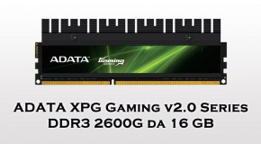 ADATA XPG Gaming v2.0 Series DDR3 2600G da 16 GB - Logo