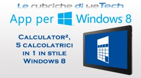 App per Windows 8: Calculator², 5 calcolatrici in 1 in stile Windows 8 - Logo