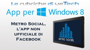 App per Windows 8: Metro Social, l'app non ufficiale di Facebook - Logo