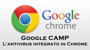 Google CAMP: l'antivirus integrato di Chrome - Logo