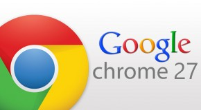 Google Chrome 27 - Logo