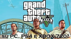 GTA V su PC, PS4 e Xbox 720? - Logo