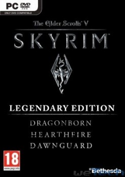 Skyrim: Legendary Edition - Anteprima cover