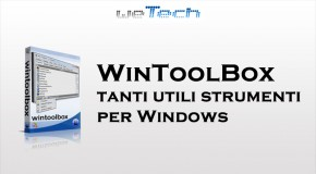 WinToolBox: tanti utili strumenti per Windows - Logo