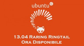 Ubuntu 13.04 Raring Ringtail ora disponibile - Logo